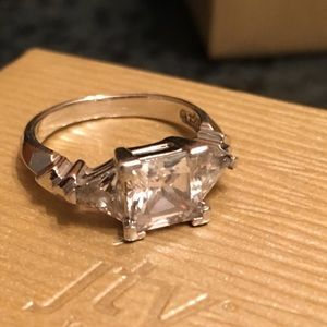 Sterling ring and cz